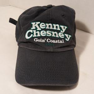 "Kenny Chesney 2011 ""Goin Coastal"" hat ball cap"